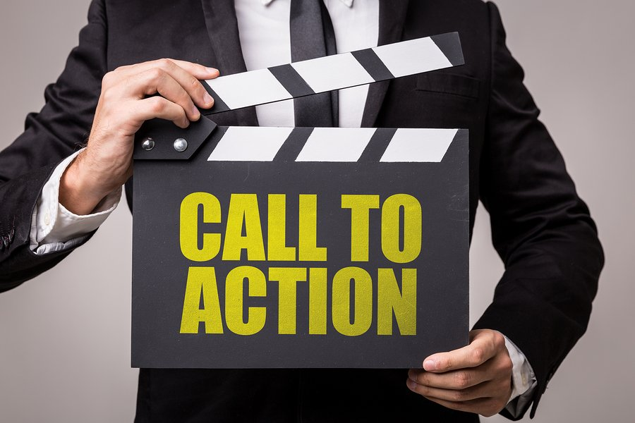 business facebook call to action