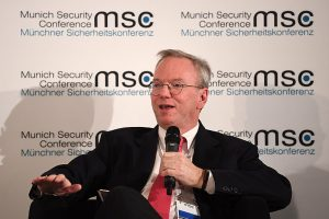 Google's former CEO predicts that the internet will split into two parts