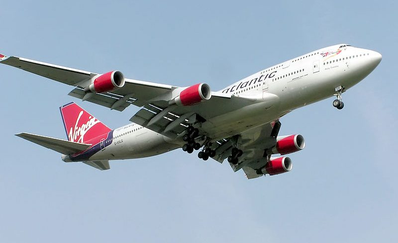 A Virgin Atlantic 747 flight will be made using industrial waste gas fuel tonight
