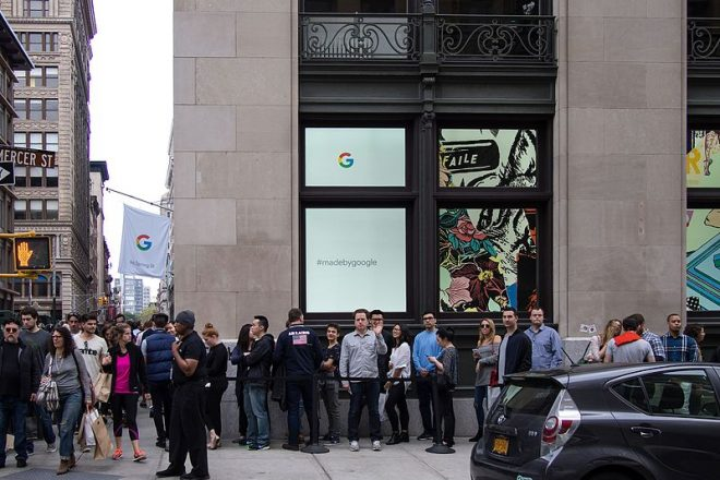Google finally announces their new technology in New York
